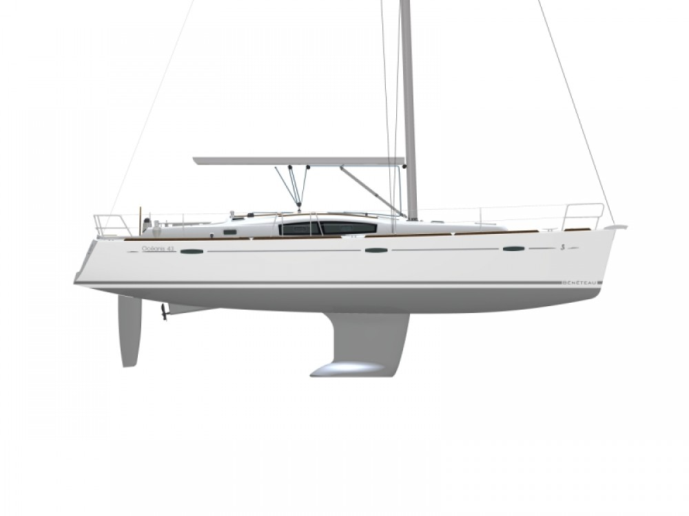 Boat rental Procida cheap Oceanis 43