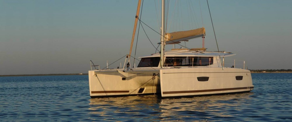 Fountaine Pajot Helia 44 between personal and professional