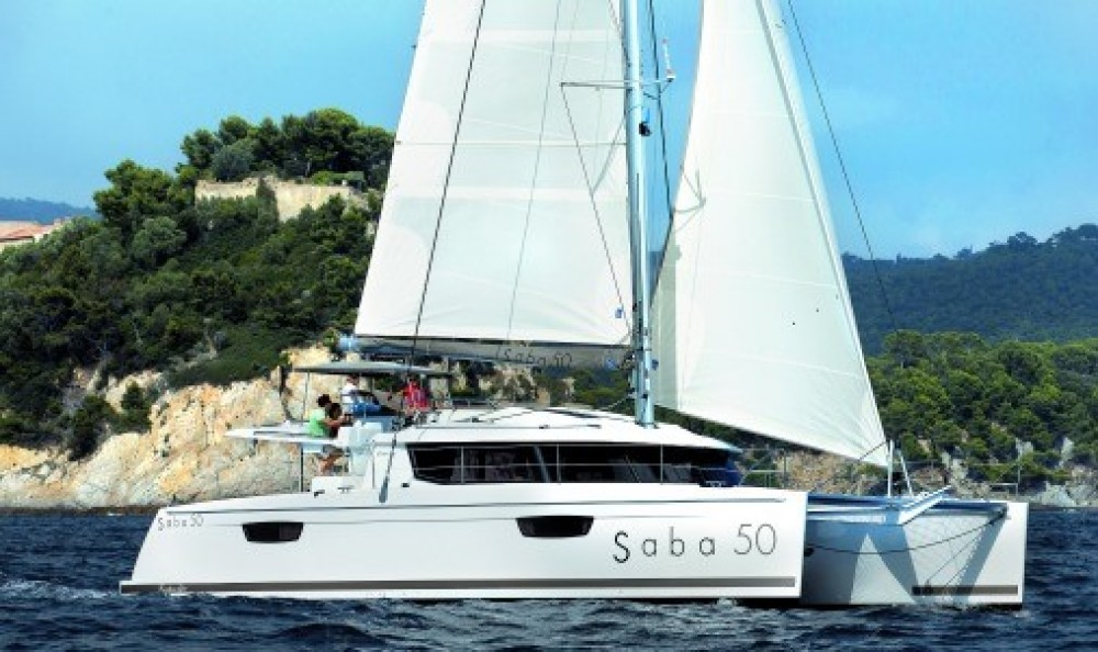 Rental yacht US Virgin Islands - Fountaine Pajot Saba 50 on SamBoat