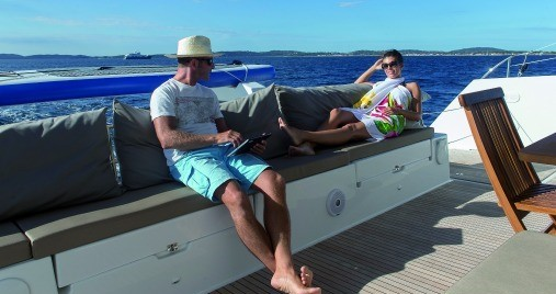 Fountaine Pajot Saba 50 between personal and professional Saint Thomas