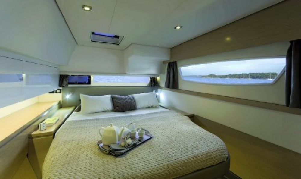 Fountaine Pajot Saba 50 between personal and professional US Virgin Islands