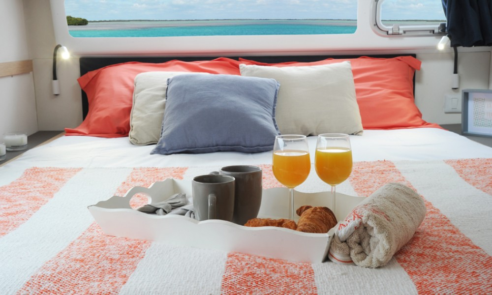 Boat rental US Virgin Islands cheap Helia 44 Evolution