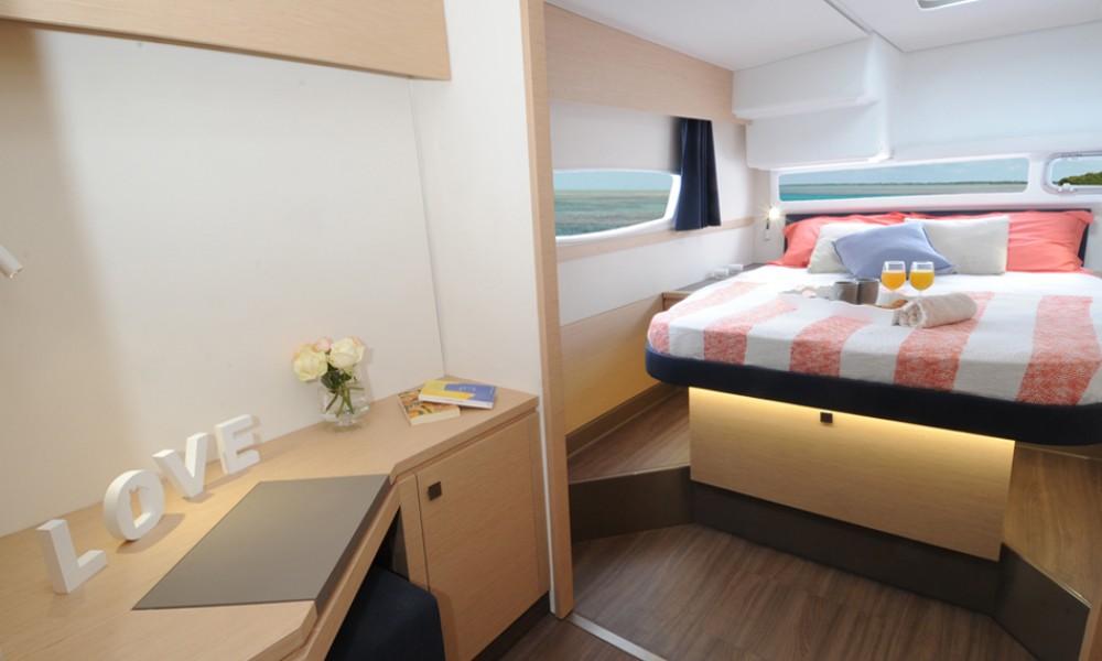 Rental Catamaran in US Virgin Islands -  Helia 44 Evolution