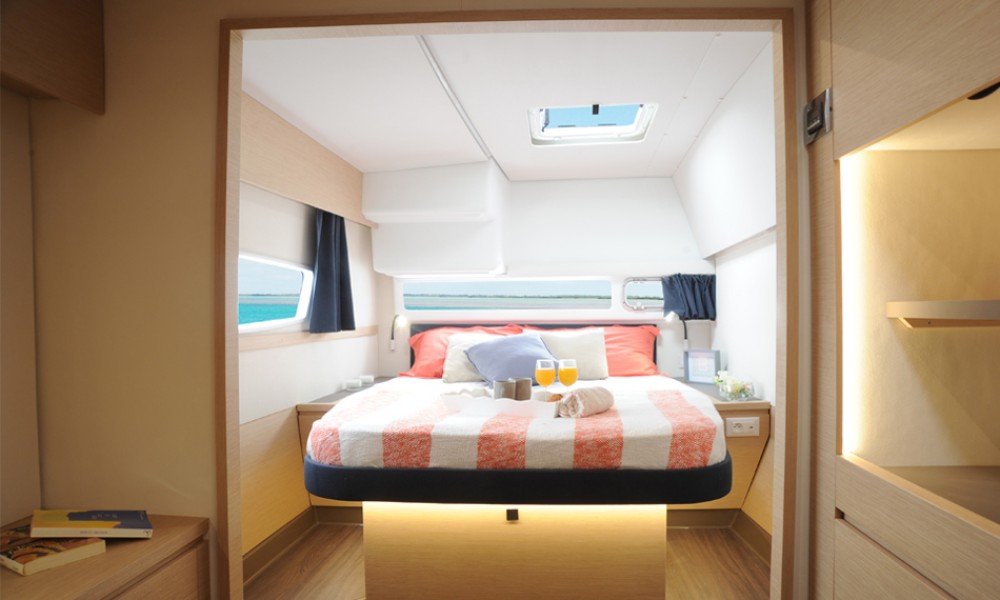 Fountaine Pajot Helia 44 between personal and professional US Virgin Islands