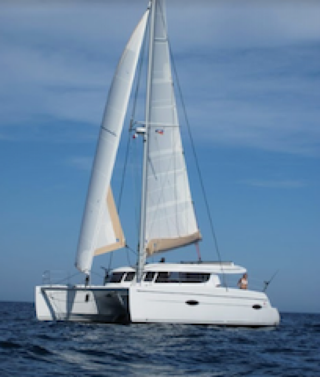 Fountaine Pajot  between personal and professional Tivat