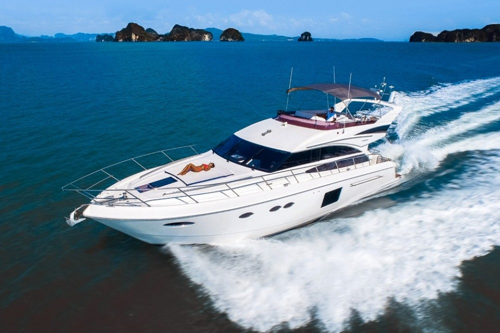 Hire Yacht with or without skipper Princess-Yachts Phuket