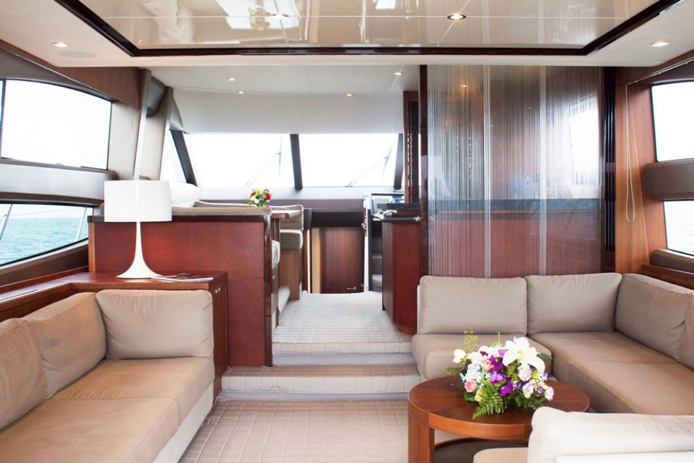Rental Yacht Princess-Yachts with a permit