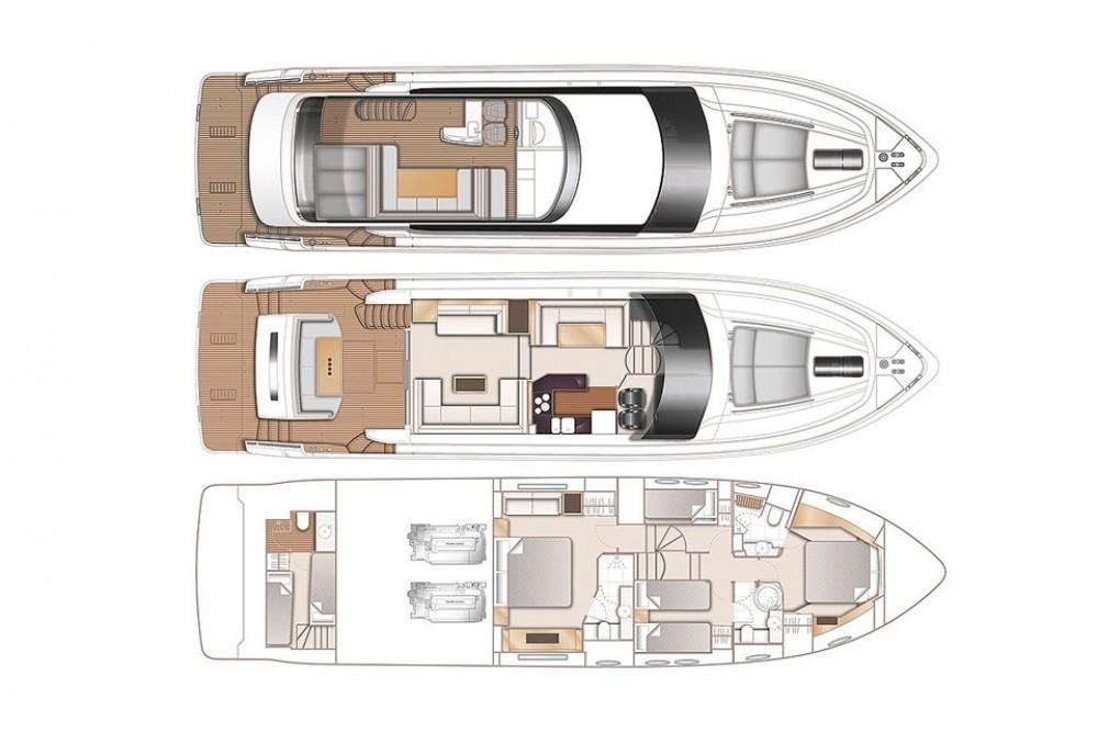 Princess-Yachts Princess 64 between personal and professional Phuket