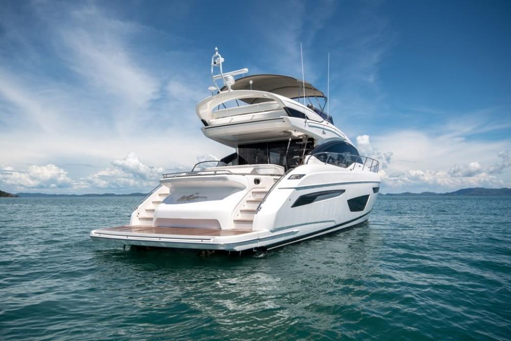 Boat rental  cheap Princess S65
