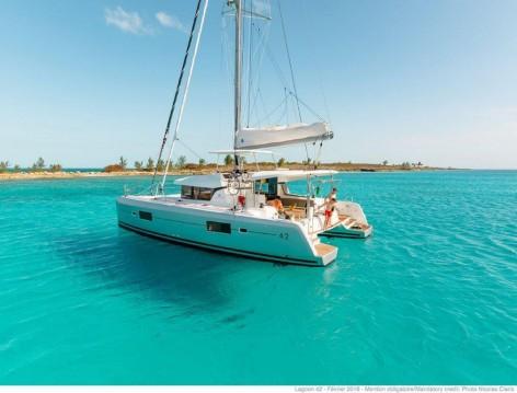 Boat rental Tortola cheap Lagoon 42