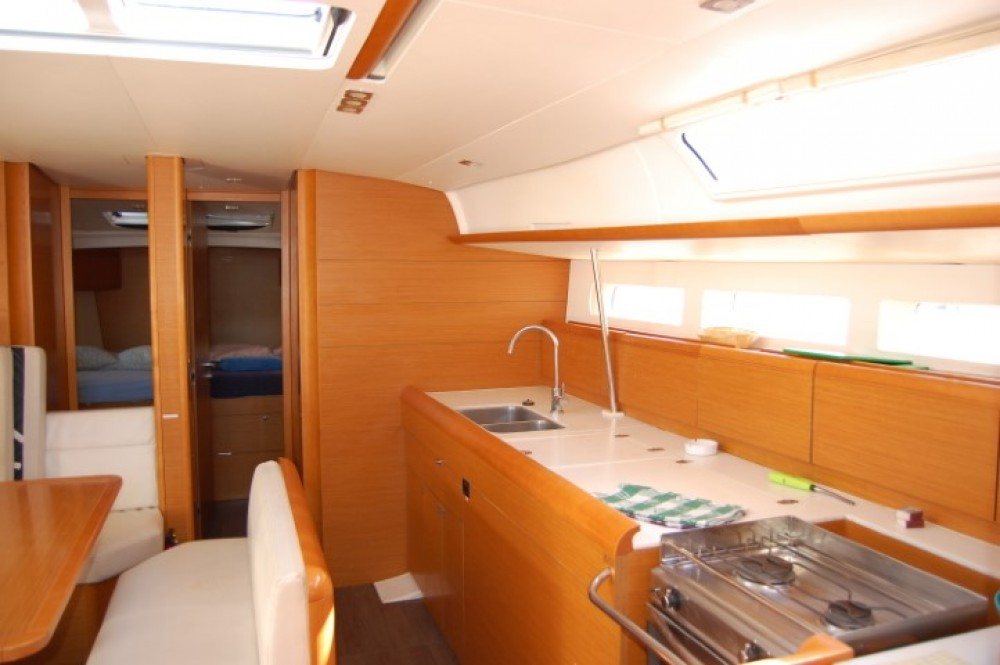 Jeanneau Sun Odyssey 519 between personal and professional Canary Islands