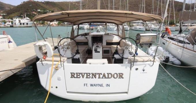 Boat rental Tortola cheap Sun Odyssey 44