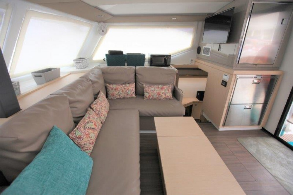 Fountaine Pajot Lucia 40 between personal and professional Road Town