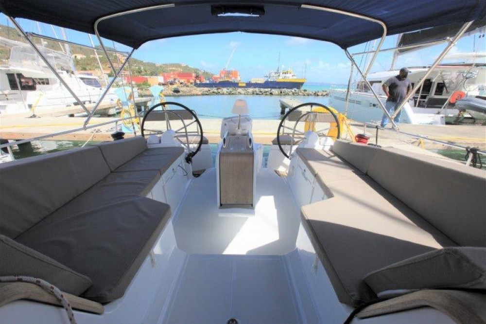 Jeanneau Sun Odyssey 44 Ds between personal and professional Road Town