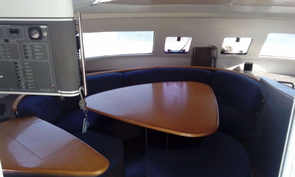 Fountaine Pajot Bahia 46 between personal and professional El Rosario