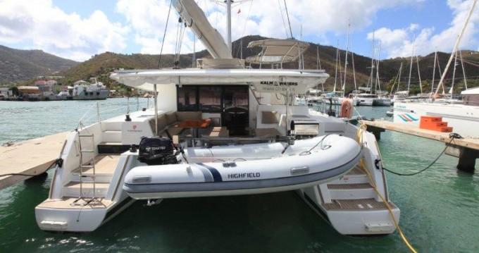 Boat rental Fountaine Pajot Helia 44 Evolution in Tortola on Samboat