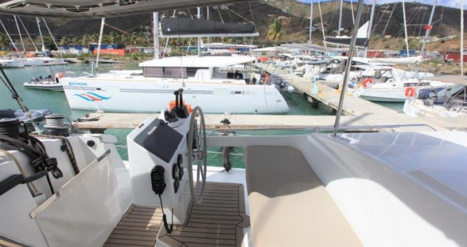 Boat rental Tortola cheap Helia 44 Evolution