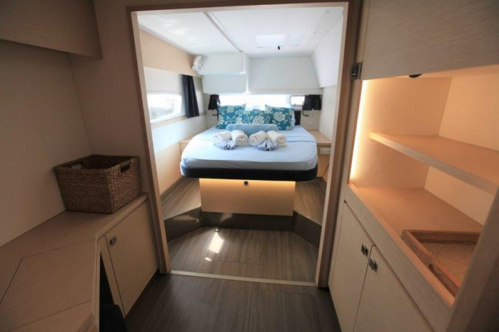 Fountaine Pajot Helia 44 between personal and professional Road Town