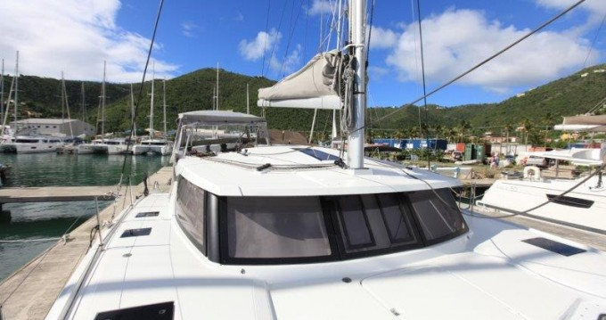 Fountaine Pajot Lucia 40 between personal and professional Tortola
