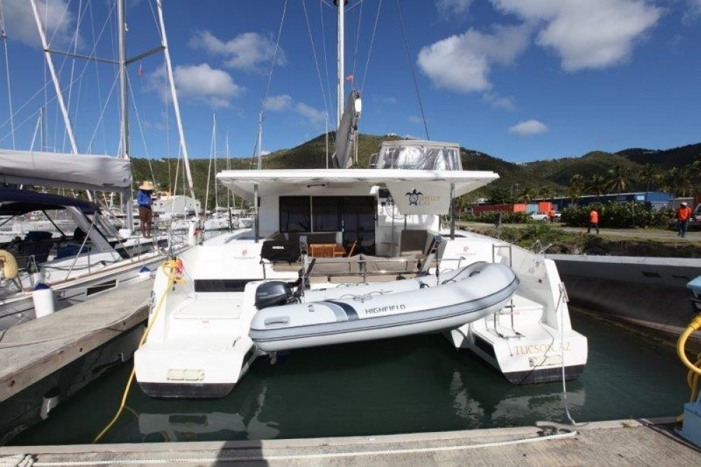 Rent a Fountaine Pajot Lucia 40 Road Town