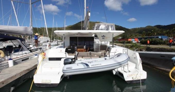 Rental Catamaran in Tortola - Fountaine Pajot Lucia 40