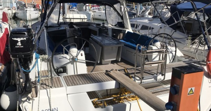 Bénéteau Oceanis 45 between personal and professional Gran Canaria
