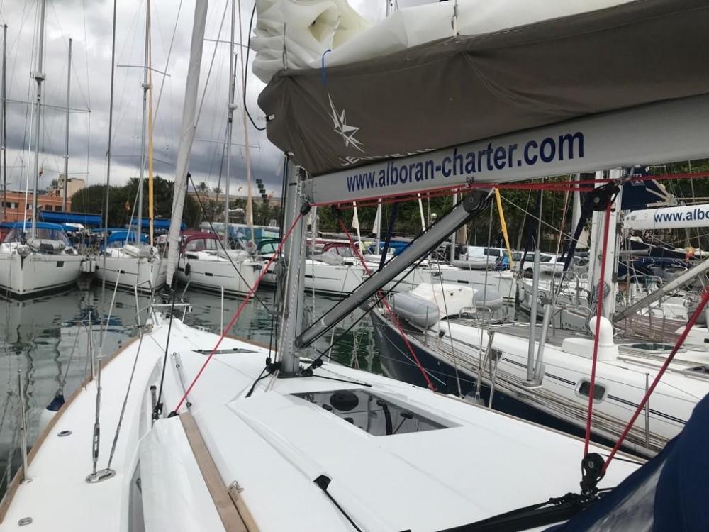 Boat rental Palma cheap Sun Odyssey 419