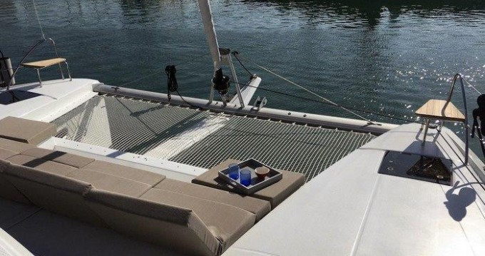 Fountaine Pajot Astrea 42 between personal and professional Tortola