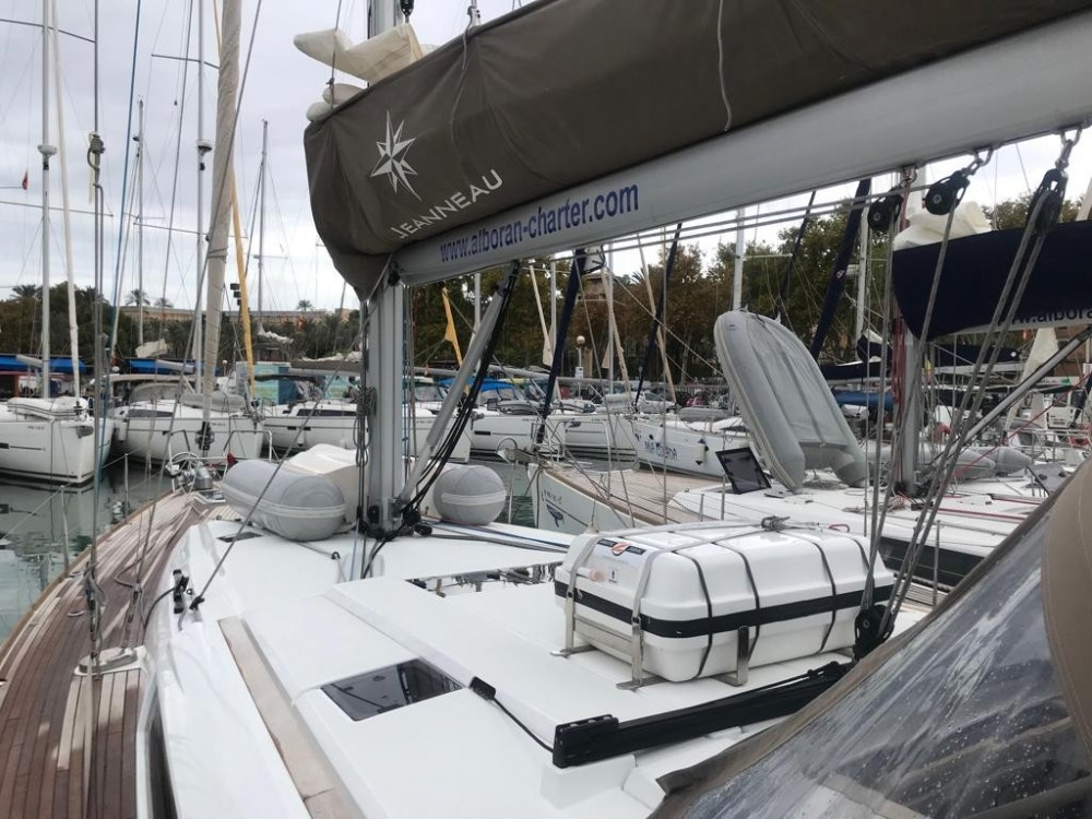 Rent a Jeanneau Sun Odyssey 519 Las Palmas de Gran Canaria