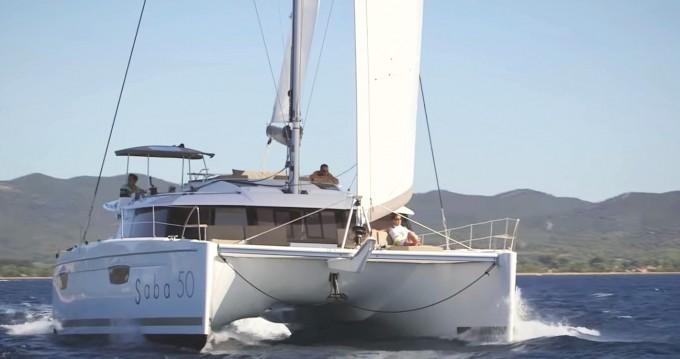 Rental yacht Tortola - Fountaine Pajot Saba 50 on SamBoat