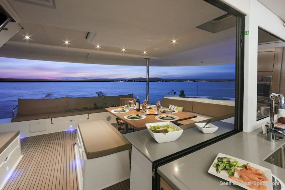 Fountaine Pajot Saba 50 between personal and professional Road Town