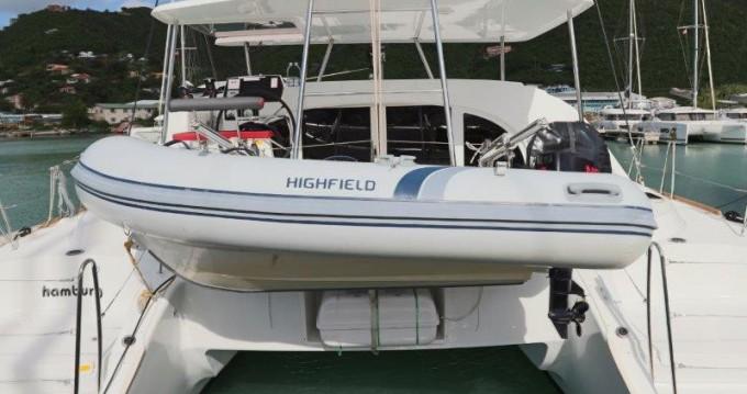 Boat rental Tortola cheap Lagoon 380