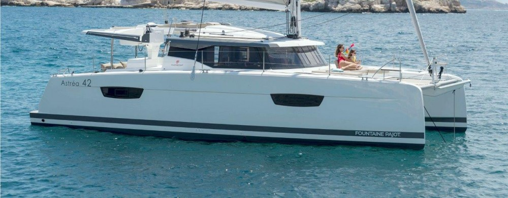 Boat rental Road Town cheap Astrea 42