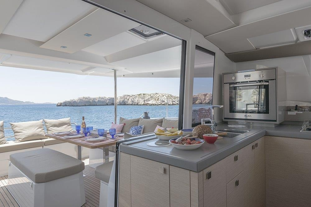 Fountaine Pajot Astrea 42 between personal and professional Road Town