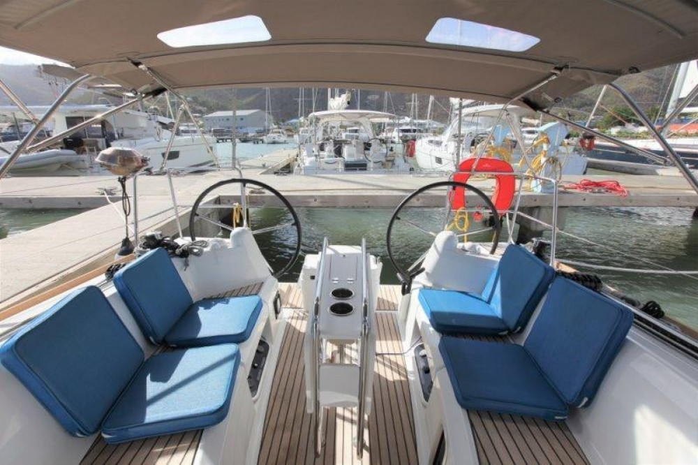 Jeanneau Sun Odyssey 349 between personal and professional Road Town