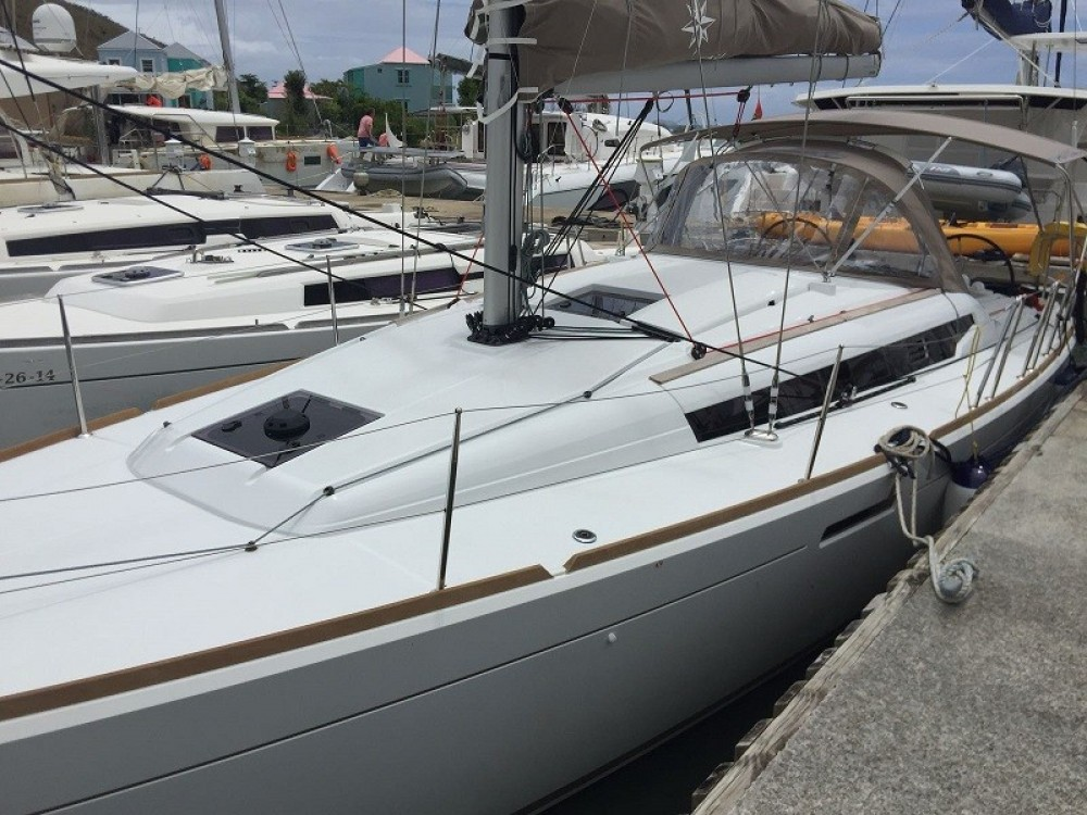Boat rental Road Town cheap Sun Odyssey 389
