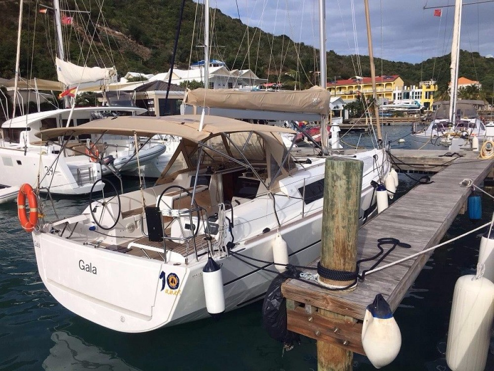 Boat rental Road Town cheap Dufour 382 Grand Large