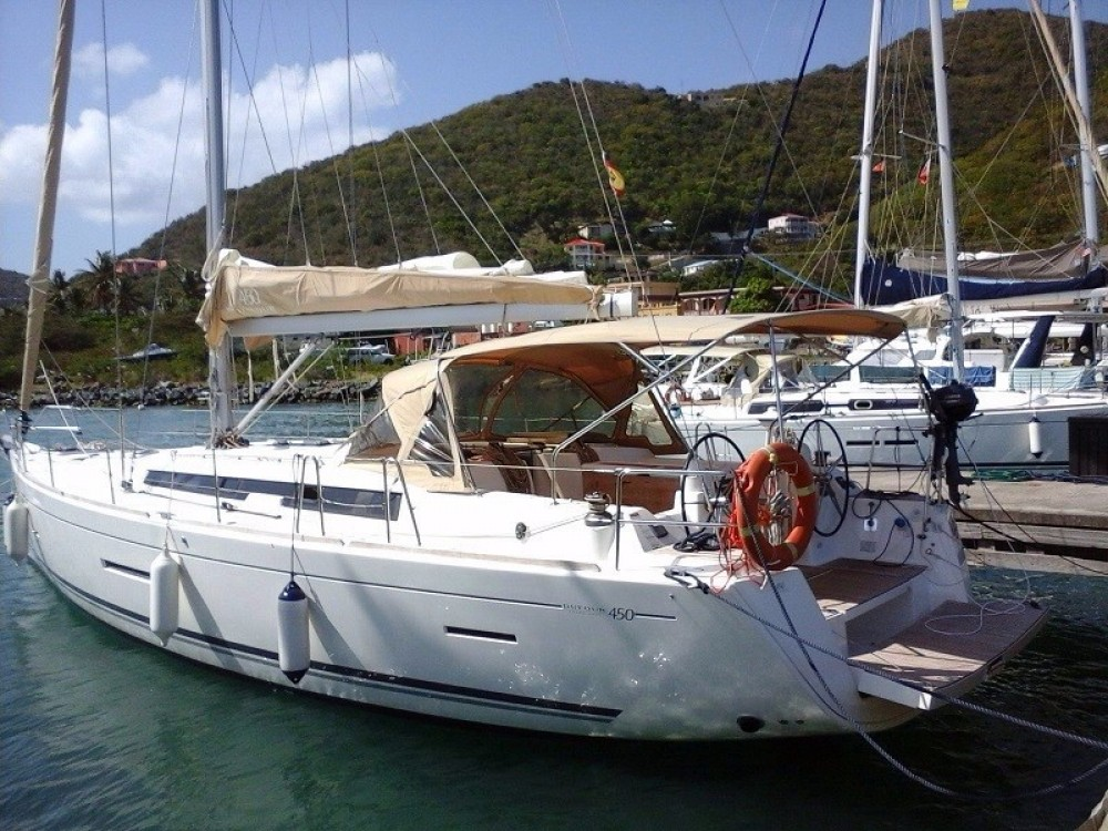 Boat rental Road Town cheap Dufour 450 Grand Large