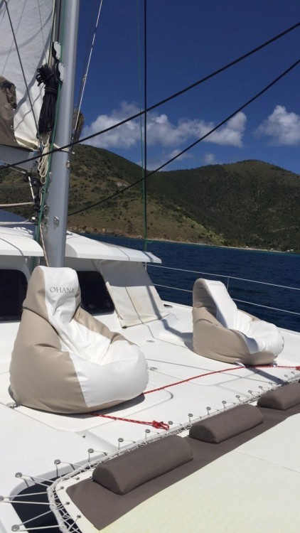Fountaine Pajot Helia 44 between personal and professional Tortola