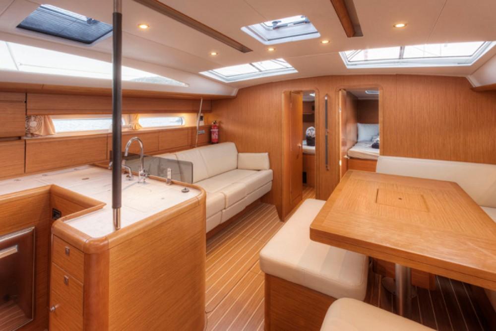 Boat rental Tortola cheap Beneteau 54.5