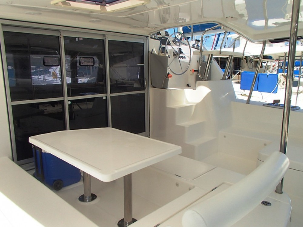 Robertson-Caine Leopard 44 between personal and professional Tortola