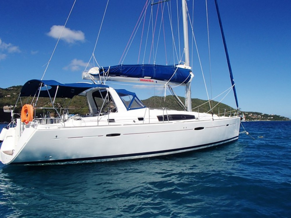 Bénéteau Oceanis 50 Family between personal and professional Tortola
