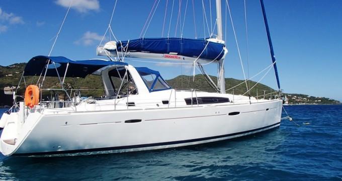 Boat rental Tortola cheap Oceanis 50 Family