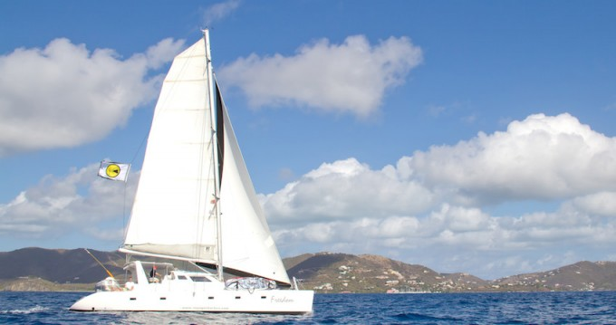 Rent a Voyage yachts Voyage 500 Road Town