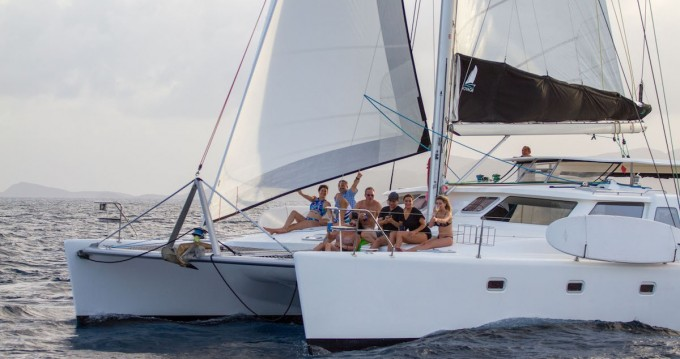 Hire Catamaran with or without skipper Voyage yachts Road Town