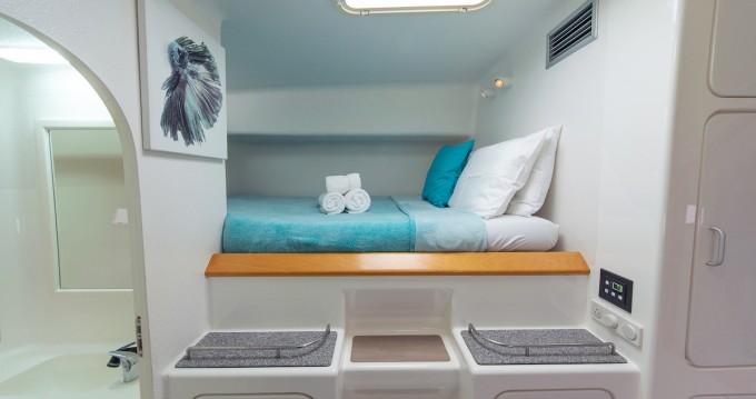 Rental Catamaran Voyage yachts with a permit