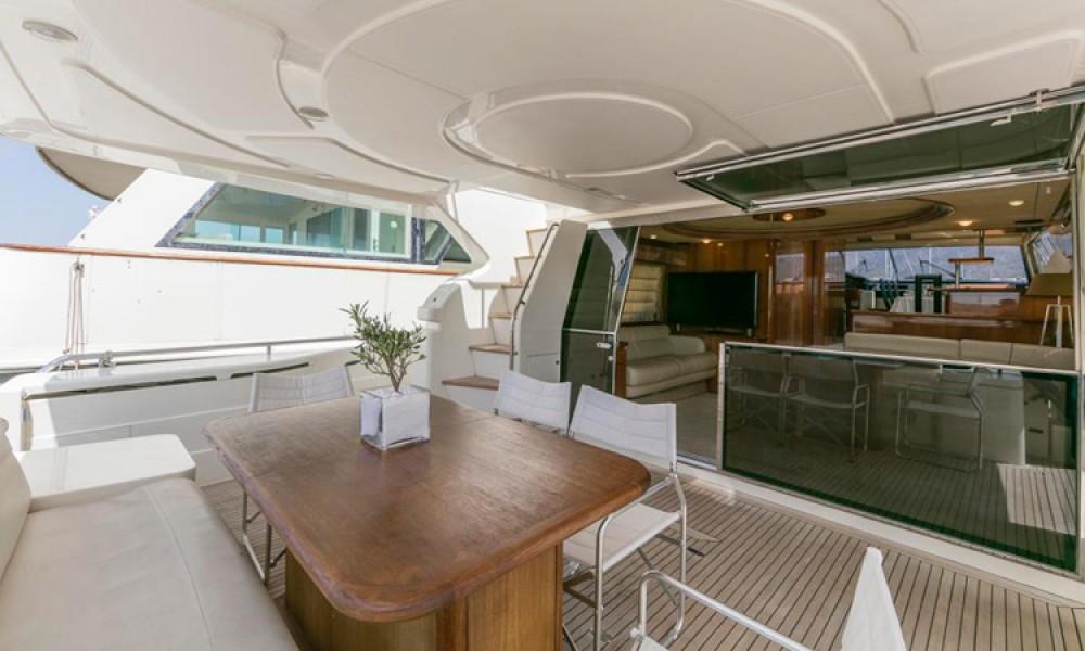 Rental yacht Athens - Ferretti FERRETTI 68 on SamBoat