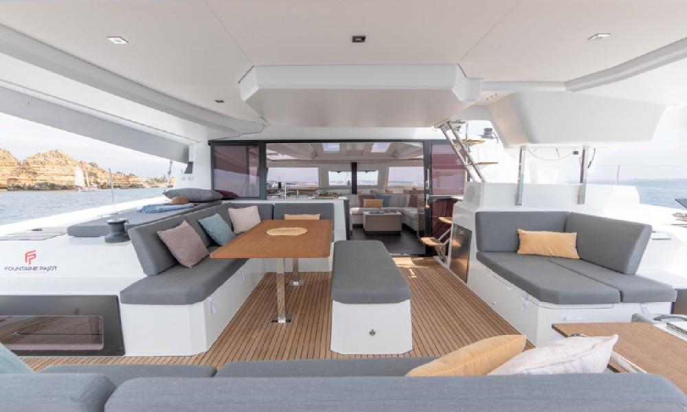 Rental yacht Athens - Fountaine Pajot Elba 45 on SamBoat