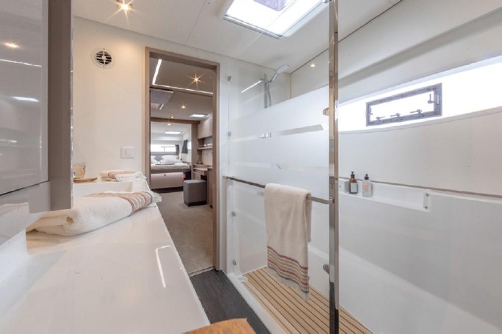 Rental Catamaran in Athens - Fountaine Pajot Elba 45