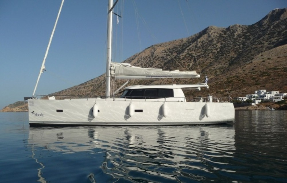Boat rental Athens cheap Moody 45 DS